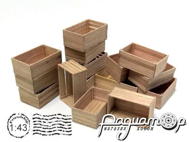 Ящик деревянный (26х16х10мм) HW02004