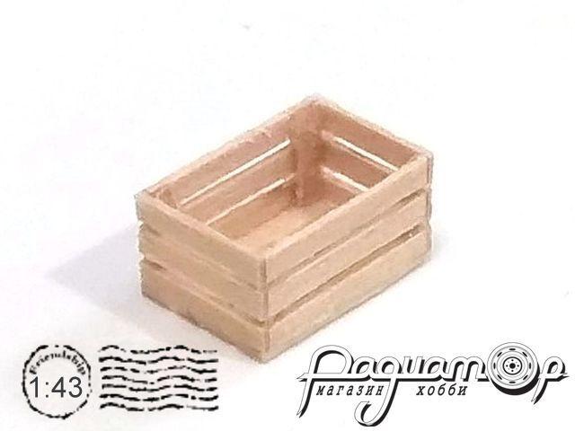 Ящик деревянный (14х9х7,5мм) HW02005