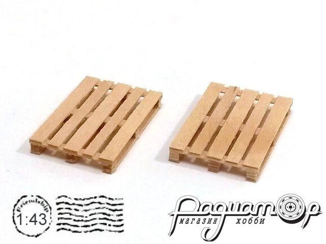 Поддон деревянный (EUR) 28х18,5х3,5мм (2шт) HW02072