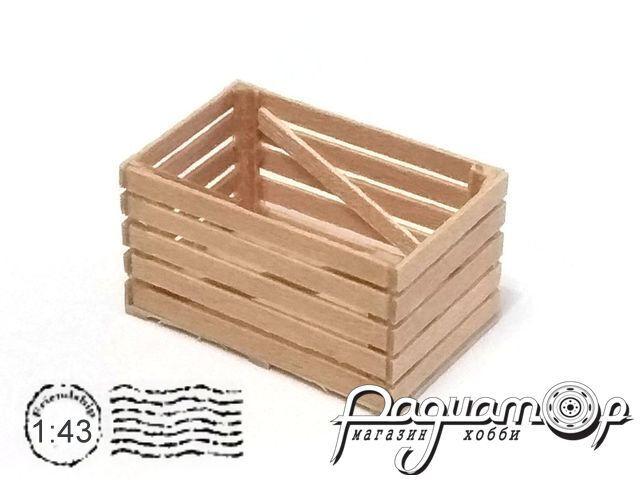 Контейнер деревянный овощной (28х18,5х15мм) HW02077