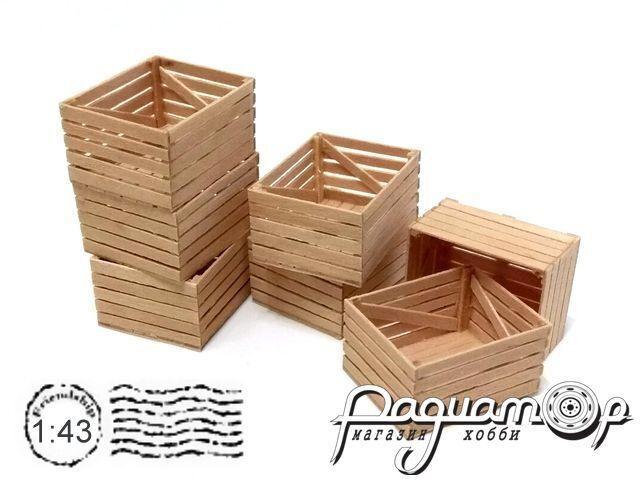 Контейнер деревянный овощной (28х23х15мм) HW02078