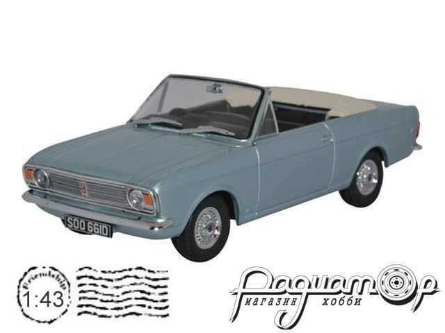 Ford Cortina Mk.II Crayford Convertible (1966) 43CCC001B