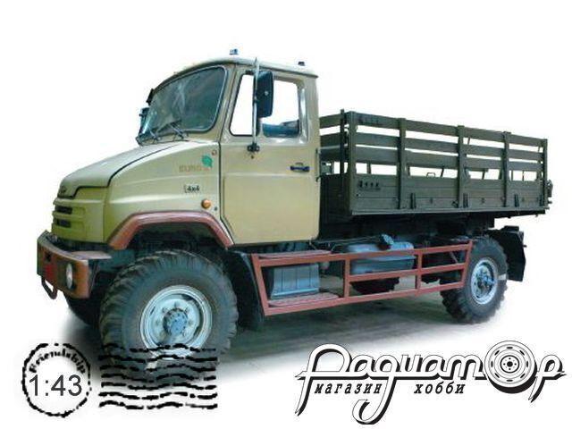Сборная модель ЗиЛ-43273Н с деревянным кузовом DNK137