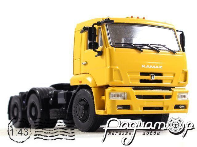 КАМАЗ-6460 седельный тягач (2005) 102736