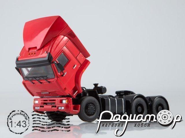 КАМАЗ-6460 седельный тягач (со спойлером) (2003) 102743