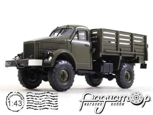 ГАЗ-63 бортовой (1947) SL037 (NK)