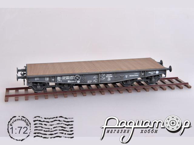 Немецкая железнодорожная платформа SSY с рельсами (1943) AS72114
