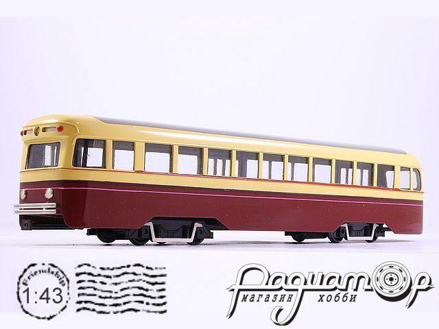 Вагон трамвая ЛМ-49 (ВАРЗ-47) (1949) 200921 (ZA)