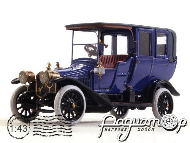 Руссо-Балт С24/35 Ландоле (VII серии) (1912) 200927 (темно-синий)