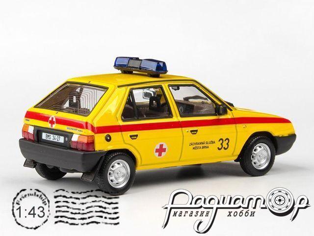 Skoda Favorit 136L Спасательная служба (1988) 143ABSX-708XO3