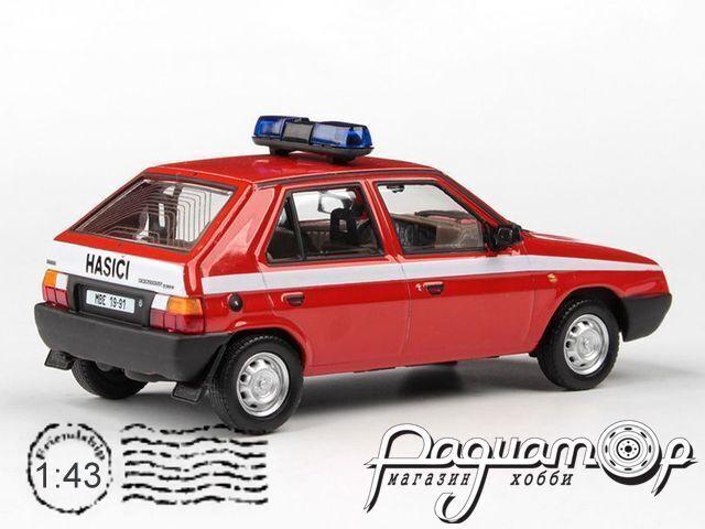 Skoda Favorit 136L Пожарный штаб (1988) 143ABSX-708XL2