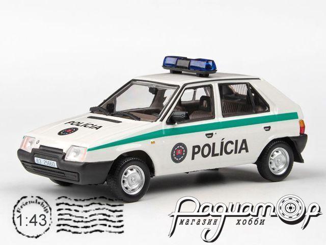 Skoda Favorit 136L Полиция Словакии (1988) 143ABSX-708XA9