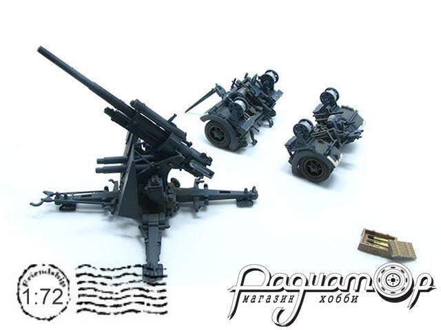88mm FlaK37 с прицепом для доставки (1940) 3372671