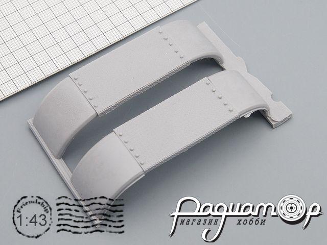 Комплект задних крыльев МАЗ BYV-016