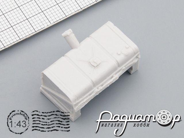 Топливный бак на полуприцеп МАЗ-5205 (и т.п.) BYV-006