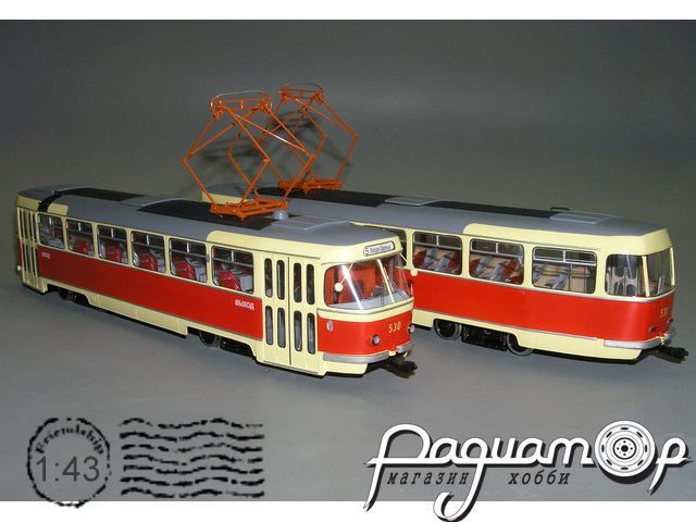 Трамвай «Татра» T-3 (М97) из к/ф «Операция «Ы» (1965) W1-82.2