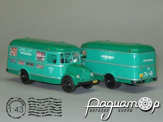 ПАЗ-659 (4х2) автолавка (1954) V4-14
