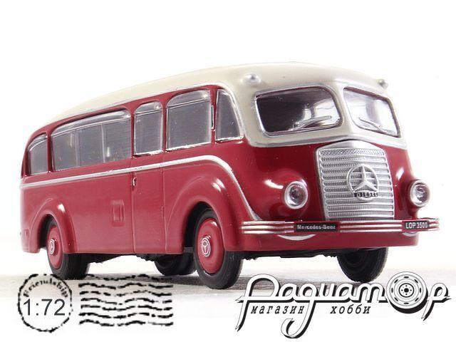 Kultowe Autobusy PRL-u №23, Mercedes-Benz Lop 3500 (1935) (SI)