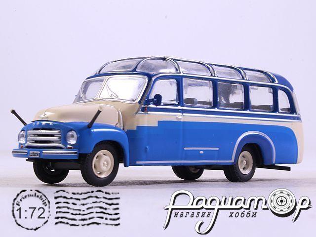 Kultowe Autobusy PRL-u №19, Opel Blitz (1954) (SI)