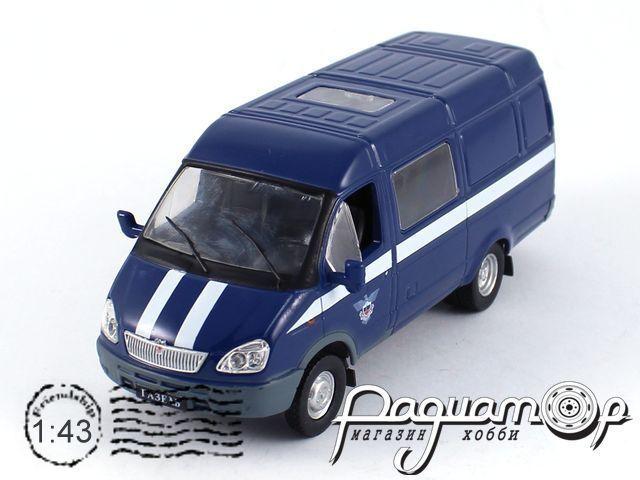 Автомобиль на службе №19 ГАЗ-2705 «Газель» спецсвязь (2002)