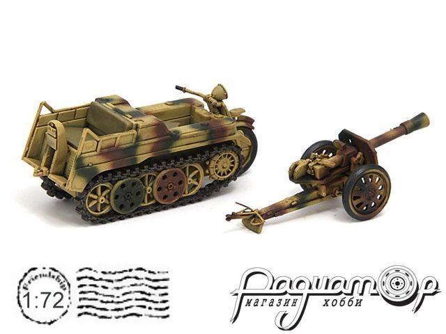 Sd.Kfz.2 Kettenkrad + Pak36 88mm (1942) CP0023