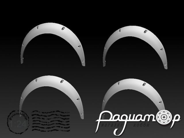 Расширители колесных арок,Фендер-90 (4шт) KDR24024