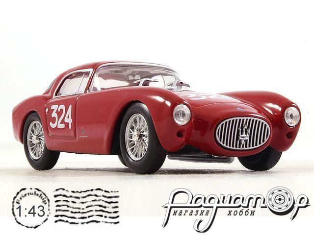Maserati A6 GCS Berlinetta №324, Giro di Sicillia (1954) (I) 2592