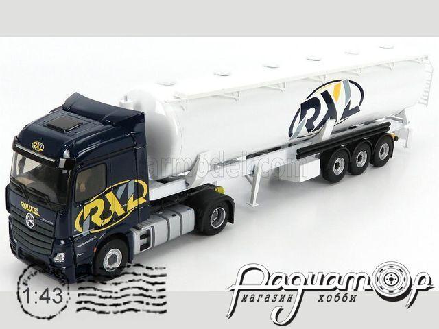 Mercedes-Benz Actros 1848 Tanker Truck Rouxel Transports (2016) 116834