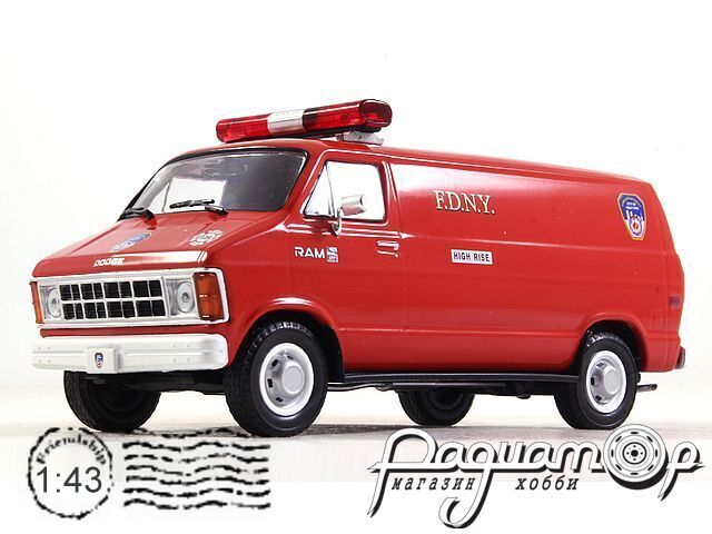 Dodge Ram B250 Van Fire Department City of New York (1987) 86578