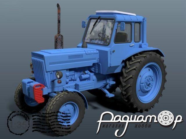 Сборная модель Трактор МТЗ-80 Беларусь BM3586