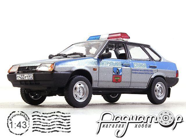 ВАЗ-21099 «Спутник» ДПС России (1990) 2623