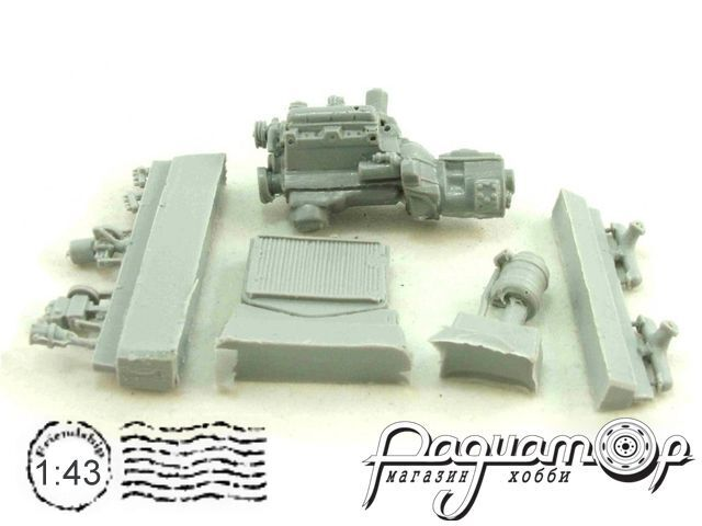 Набор для сборки Двигатель ЗиЛ-130 UM-K005