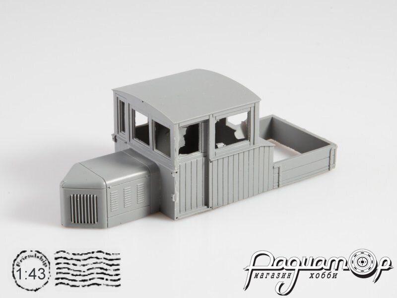 Сборная модель Мотовоз МУЗГ-4 4049AVD