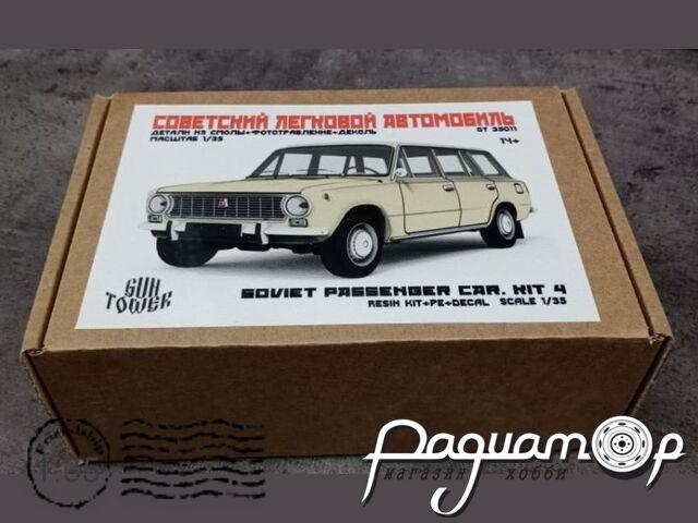 Сборная модель Советский легковой автомобиль ВАЗ-2102 GT35011