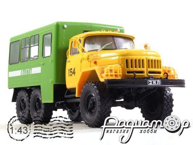 ЗиЛ-131НА Вахтовый автобус 42104 (1966) (ZU) 786