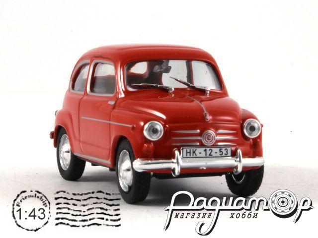 Retroautok №38, Zastava 750 (1955)