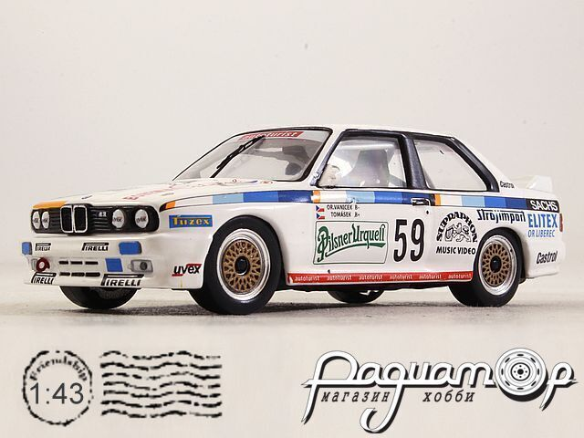 BMW 3-Series M3 (E30) №59 ETCC Season (1988) GTM133