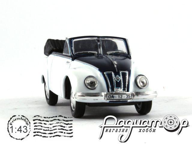 Retroautok №66, IFA F9 Cabrio (1949)