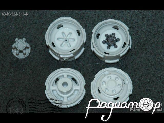 Набор ГАЗель 4х4, 4 диска нового образца (4 отверстия облегчения) 43-K-524-516-N