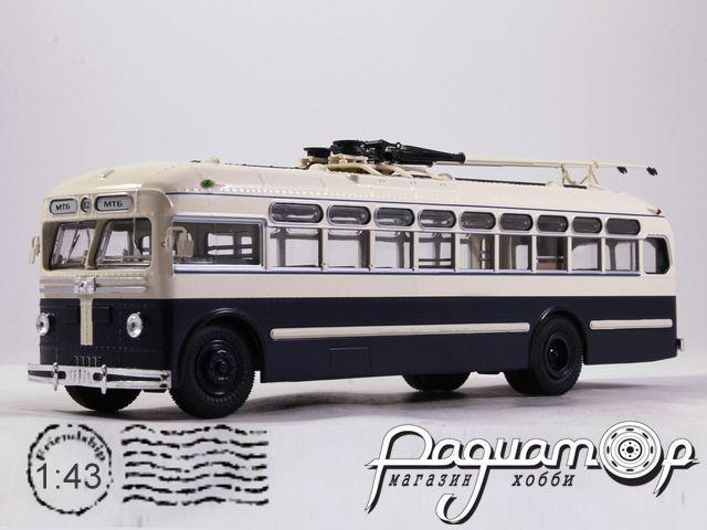 Троллейбус МТБ-82Д городской (Тушинского Авиазавода) (1946) UM43-A2-1 (PV)