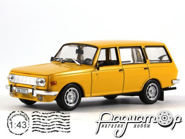 Masini de Legenda №41, Wartburg 353 Tourist (1966) (ML)