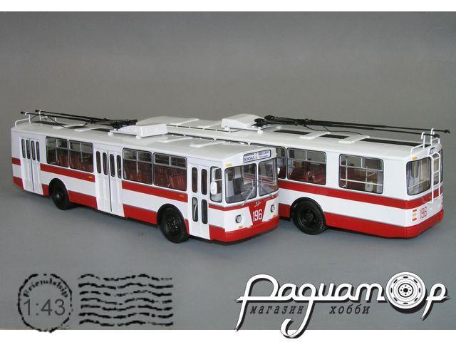 Троллейбус ЗиУ-682Б пневмобаллонный (1974) W1-36