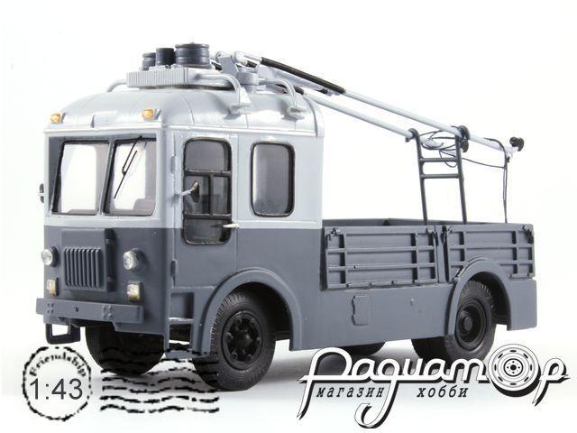 Троллейвоз СВАРЗ ТГ-3 грузовая платформа (1960) 18-5-1G