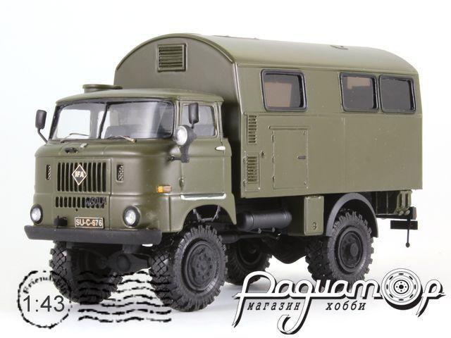 IFA W50L кунг МВ NVA (1965) 1-2-32-N