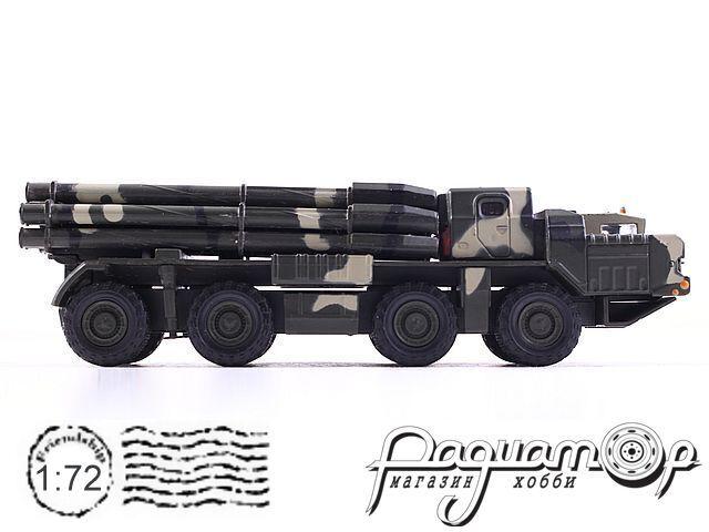 Русские танки №29, БМ-30 «Смерч» (1987)