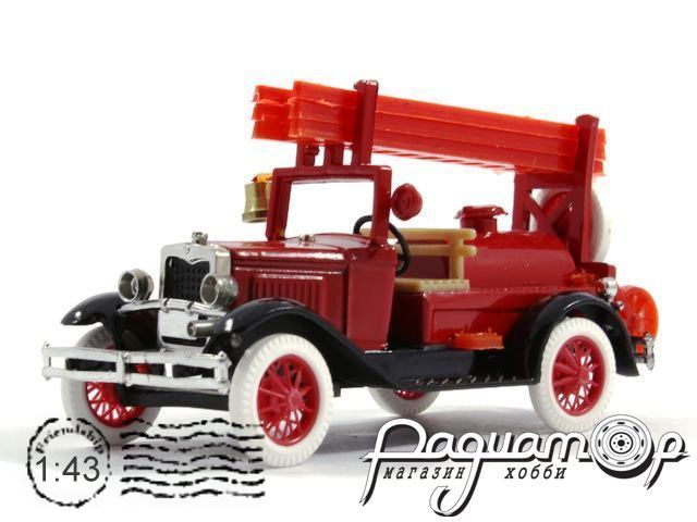 ГАЗ-А пожарный с бочкой (1935) 43401