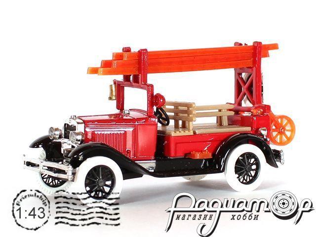 ГАЗ-А пожарный со скамейками (1935) 43402