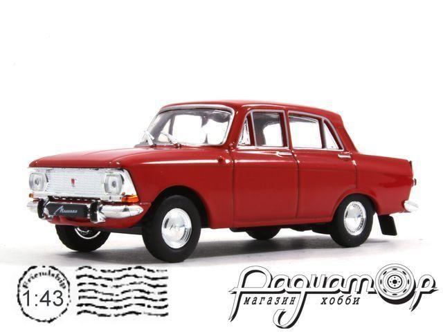 Автолегенды СССР №41, Москвич-412 (1967)