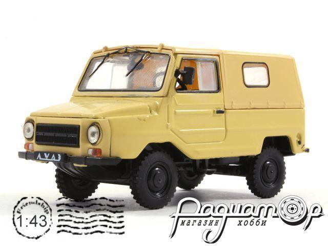 Автолегенды СССР №34, ЛУАЗ-969М (1979)