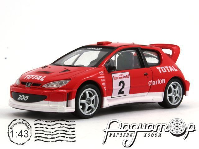 Peugeot 206 WRC (1998) 143XND-81750